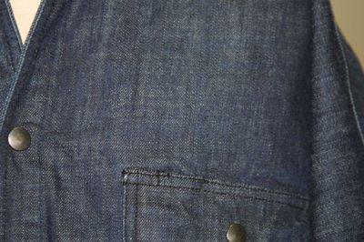 画像2: ●【ヴィンテージデニム】手甲シャツ