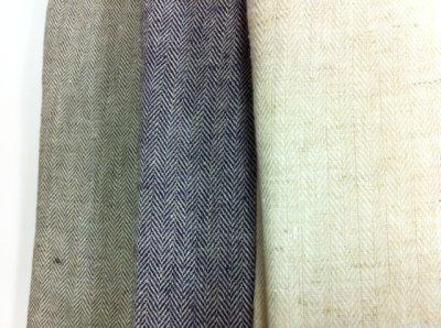 画像2: ●麻綿ヘリンボンシャツ-52series HEMP55%,COTTON45%