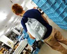 画像7: オリジナルデイパック 巾着 バッグ TOBIグッズ 【1つまで送料88円:DM便対応】 (7)