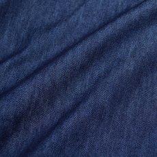 画像5: 【夏デニム】08シリーズ のびのびストレッチ 79型ワークシャツ (5)