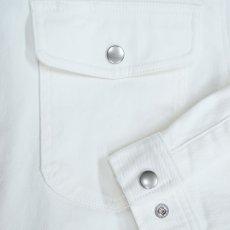 画像5: 75シリーズ《ホワイトデニム》のびのびストレッチ 79型シャツ (5)