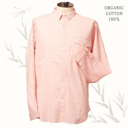 画像1: ○TOBI最涼!オーガニックCOTTON100% サマーシャツ (1)