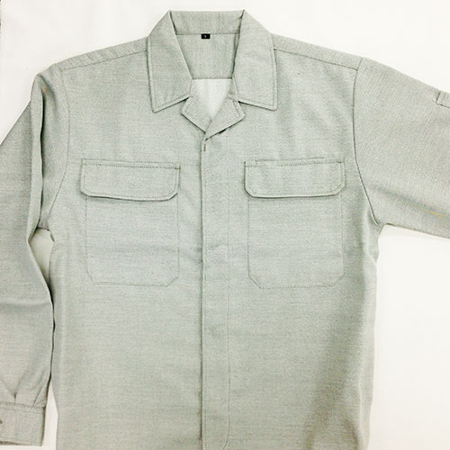 画像1: ●【新型】オープンシャツ《数量限定》90シリーズ(厚手サージ) (1)