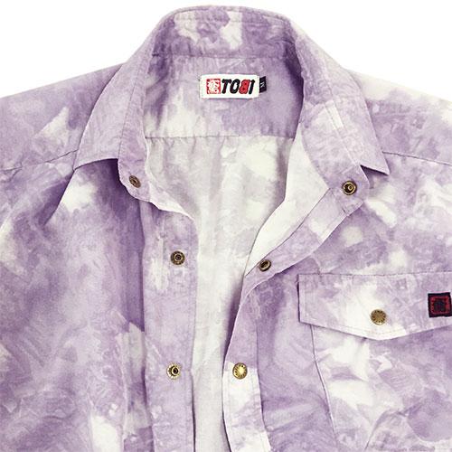 画像1: ●《ネット限定販売》 23シリーズ【T/Cサマープリント】 サマーシャツ (1)