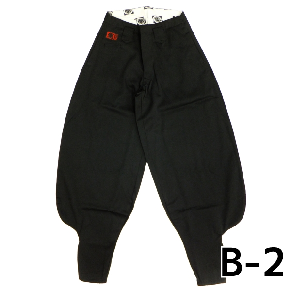 画像1: 【鳶TOBI定番】B-2 61シリーズ ポリエステル80%/綿20% SS〜w120 (1)