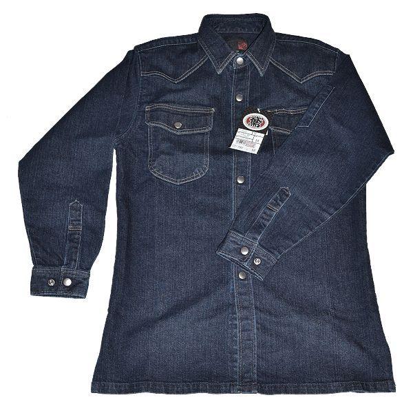 画像1: ストレッチデニム《C》 79型ワークシャツ M〜4L (1)