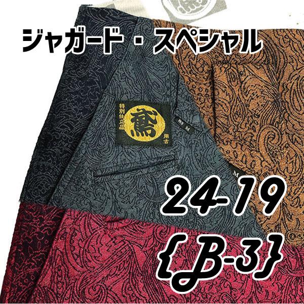画像1: ○超希少【ジャガードカラーデニム】B-3 数量限定!! モダン (1)